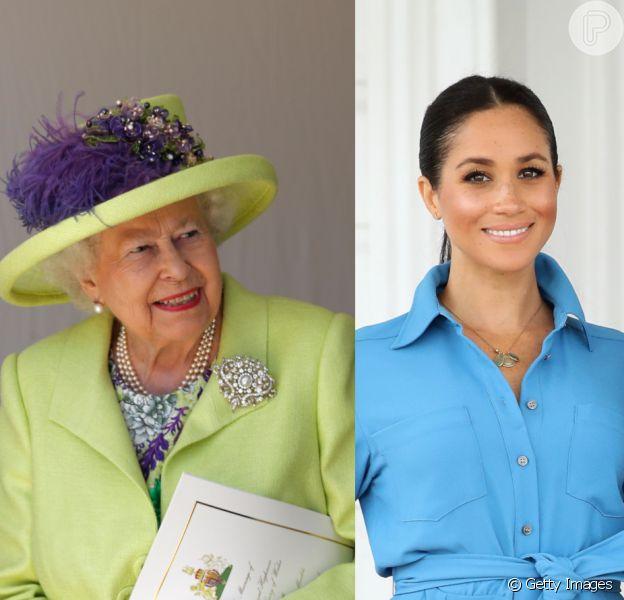 Rainha veta empréstimos de joias reais a Meghan Markle e irrita Príncipe Harry. Entenda polêmica nesta matéria do dia 04 de abril de 2019