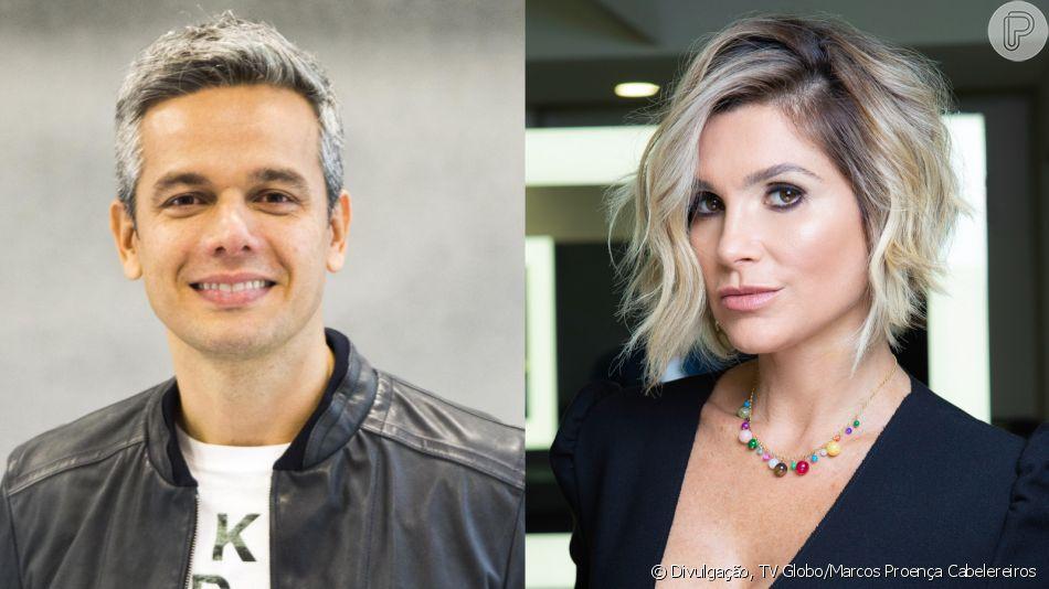 Otaviano Costa elogia mudança de visual de Flávia Alessandra nesta quinta-feira, dia 11 de abril de 2019