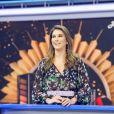 Alexandre Pato surpreendeu Rebeca Abravanel em gravação do programa