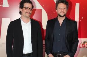Wagner Moura e Selton Mello recebem famosos na pré-estreia de 'Trash', no Rio