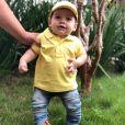 Dom, filho caçula de Wesley Safadão e Thyane Dantas, ganhou a festa com tema Páscoa