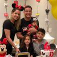 Thyane Dantas gostam de fazer festas temáticas para comemorar os meses de vida de Dom: aos 6 meses, a comemoração foi da Disney