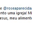 Claudia Leitte rebateu críticas de fãs ao postar foto de seu batizado