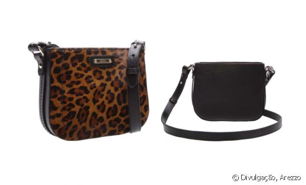 A bolsa com estampa animal print de leopardo, em pelo, é uma aposta certeira para looks descolados. A peça está à venda no site da marca por R$ R$459,90