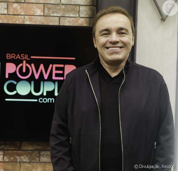 Com apresentação de Gugu Liberato, 'Power Couple' estreia nesta terça-feira trinta de abril