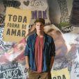 Filipe (Pedro Novaes)  vai afirmar para Guga (Pedro Alves) que não deixará Rita (Alanis Guillen) se aproximar de Nina e sua família na novela 'Malhação: Toda Forma de Amar'.