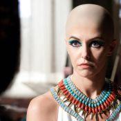 Bianca Rinaldi, graças a touca, aparecerá careca na minissérie 'José do Egito'
