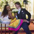Apaixonado por Dandara (Dandara Mariana), Quinzinho (Caio Paduan) não aceitará se casar com Vanessa (Camila Queiroz) na novela 'Verão 90'