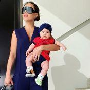 Mix de listras! Filha de Sabrina Sato, Zoe encanta ao usar look estampado. Veja