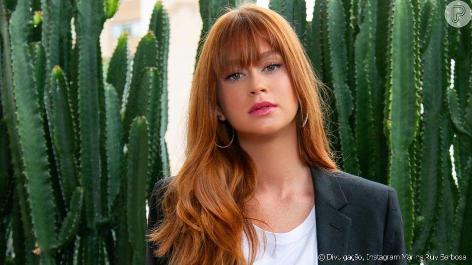 Marina Ruy Barbosa já está em Cannes e vai ficar na cidade francesa até o dia 21