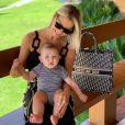 Andressa Suita é mãe de Samuel, de 10 meses