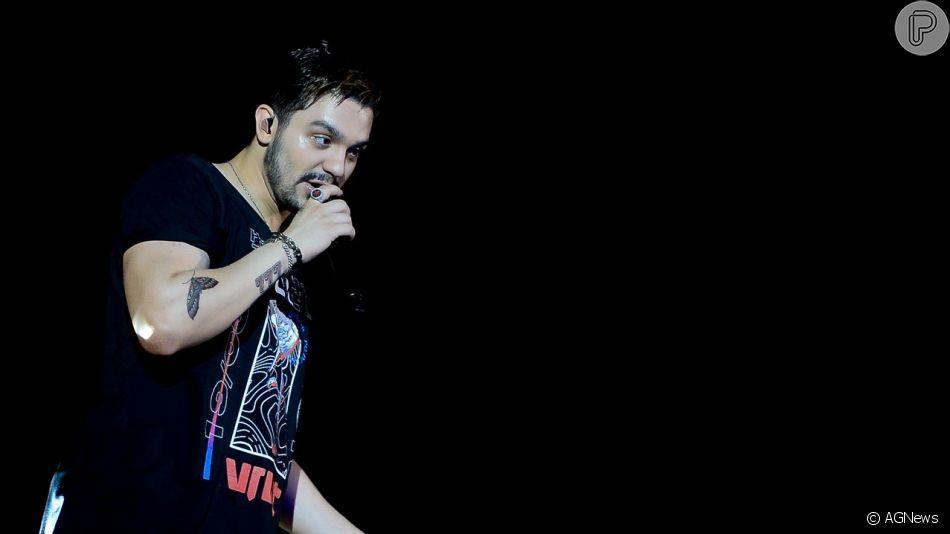 Luan Santana grava seu sexto DVD, batizado de 'Viva', em Salvador, nesta domingo, 19 de maio de 2019