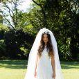 O vestido de noiva de Ritinha em 'Força do Querer' contava com um véu volumoso