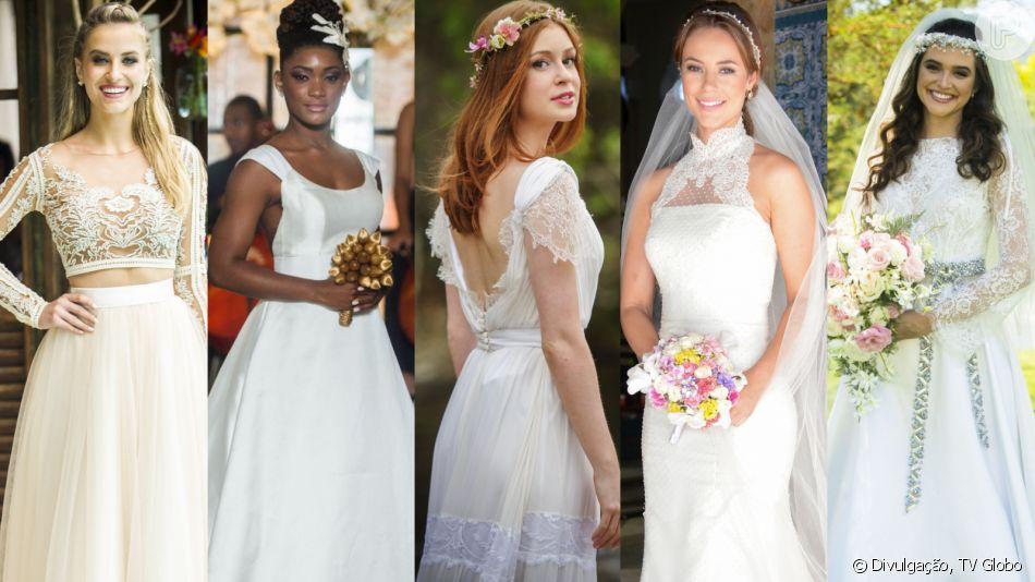 Vestidos de casamento de novela: confira 60 fotos de modelos para se inspirar em galeria nesta terça-feira, dia 21 de maio de 2019
