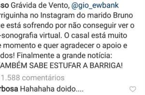 Marina Ruy Barbosa comenta post de Bruno Gagliasso sobre Giovanna Ewbank. Veja!