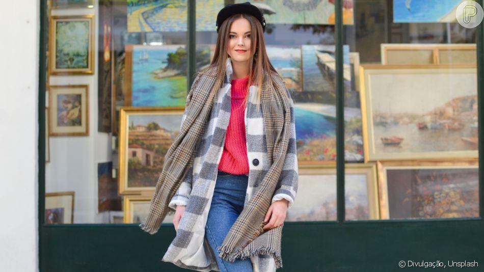 ba27d372fc Look de inverno  casaco longo tá na moda! Saiba como usar cardigã ...