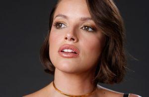 De cabelo curto, Agatha Moreira é comparada à Bruna Marquezine na web: 'Gêmea'