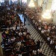 A Missa de sétimo dia de Gabriel Diniz aconteceu na Catedral Basílica de Nossa Senhora das Neves, em João Pessoa