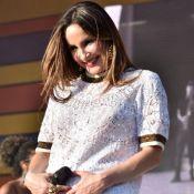Grávida, Claudia Leitte mostra rosto da filha, Bella, em ultrassom: 'Presente'