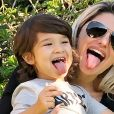 Antonia Fontenelle é mãe de Salvatore, de quase 3 anos.