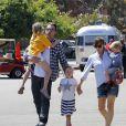 Ben Affleck é casado com a atriz Jennifer Garner, com quem tem três filhos