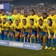 Seleção Brasileira entrentou a Austrália na tarde desta quinta-feira (13)