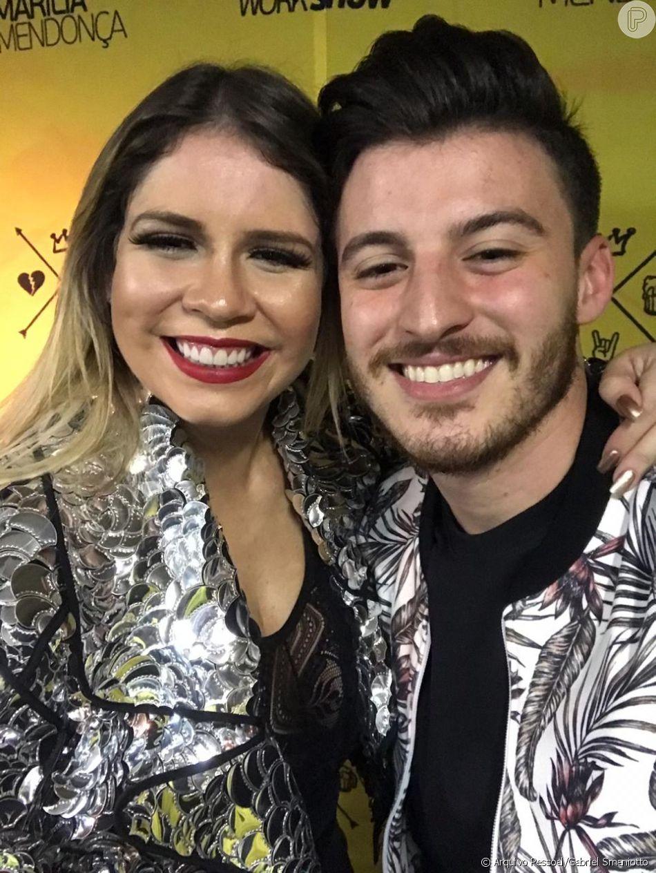 Gabriel Smaniotto contou que foi acolhido com carinho por Marilia Mendonça também nos bastidores