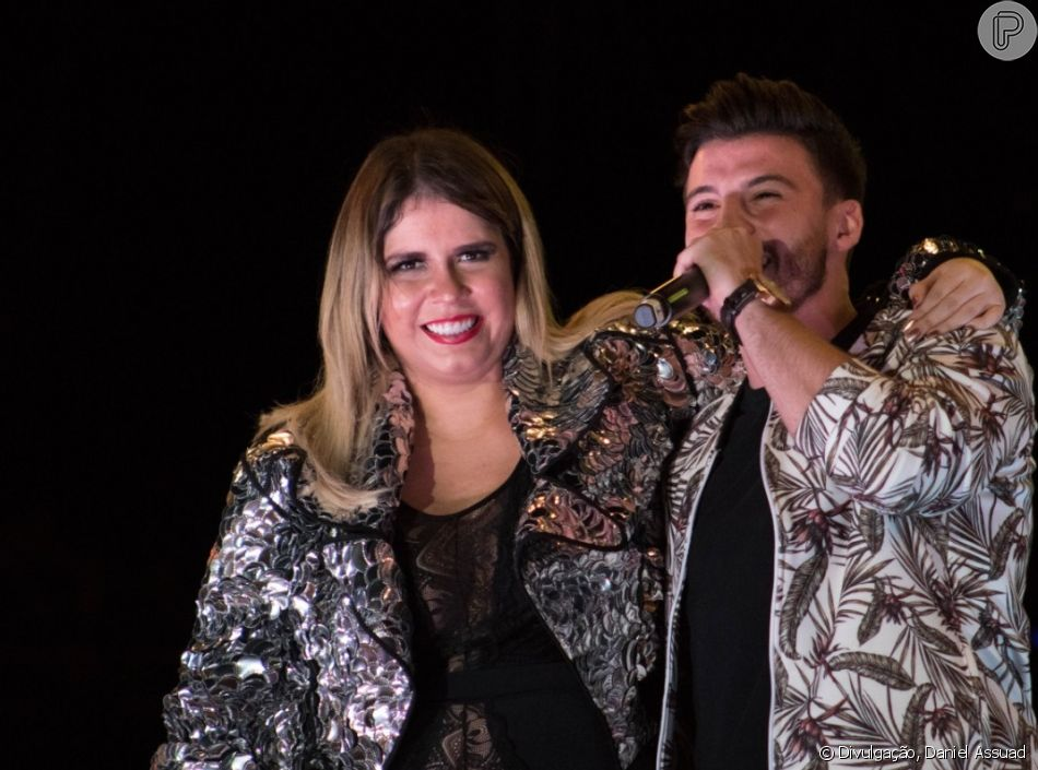 Gabriel Smaniotto comemora show com Marilia Mendonça: 'Foi maravilhoso, gostei demais. Uma experiência única e muito forte!'