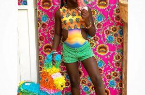Looks coloridos, penteados e paixão por make: aos 6 anos, Títi é puro estilo!