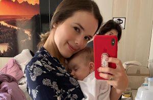Thaeme Mariôto faz primeira viagem com a filha, Liz: 'Foi muito legal'. Fotos!