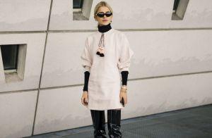 Inspire-se! 10 formas de usar vestido curto com botas neste inverno