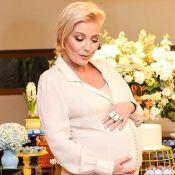 No fim da gravidez, Luiza Possi conta que engordou quase 19 kg: 'Comendo por 3'