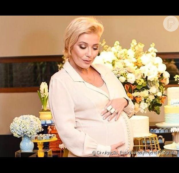 Luiza Possi contou que ganhou quase 19 kg na gravidez