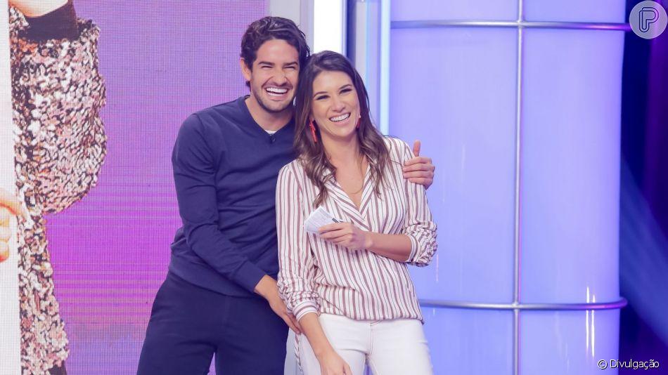 Alexandre Pato e Rebeca Abravanel se casam em cerimônia secreta em São Paulo, em 29 de junho de 2019