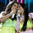 Simone e Simaria agitam show no Villa Mix, em Goiânia, nesse sábado, 29 de junho de 2019