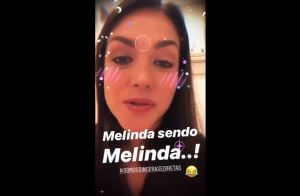 Thais Fersoza fica surpresa diante de conselho da filha, Melinda: 'Sincera'