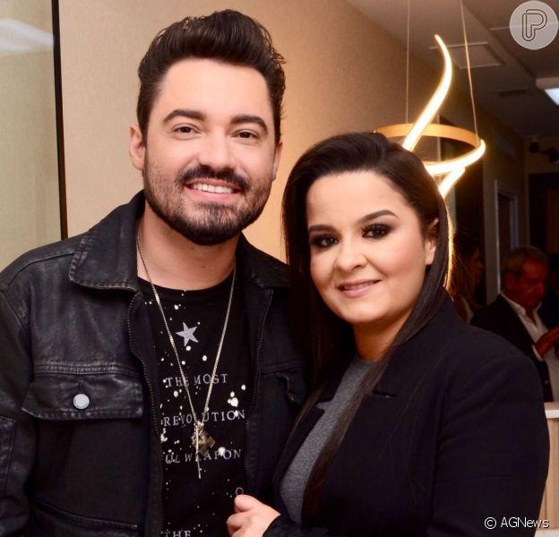 Maiara comentou foto do namorado, Fernando Zor, no Instagram nesta quarta-feira, 3 de julho de 2019