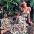 Grazi Massafera escreveu na foto de Cauã Reymond com a filha dos dois: 'Foto linda'