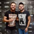 Zé Neto e Cristiano dedicam música para Marilia Mendonça em show no Ceará nesta quarta-feira, dia 17 de julho de 2019