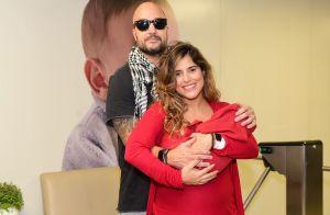 Marido exalta Camilla Camargo ao mostrar fotos do parto do filho: 'Enorme'