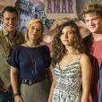 Rita (Alanis Guillen) pede para Filipe (Pedro Novaes) provar que está ao seu lado e contar a verdade para a juíza na novela 'Malhação - Toda Forma de Amar'