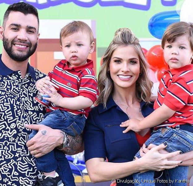 Gusttavo Lima explicou por que recusou propostas altas para mostrar a família em comerciais