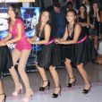 Luana Marquezine impressionou ao fazer quadradinho e escapate em festa