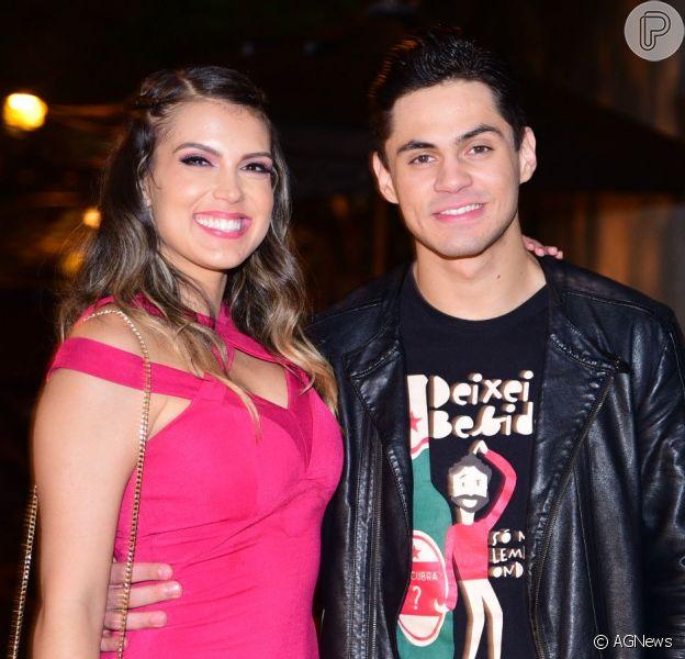 Lucas Veloso defendeu namorada após Nathalia Melo ser demitida do 'Domingão do Faustão'