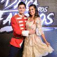 Lucas Veloso e Nathalia Melo ficaram em segundo lugar no 'Dança do Famosos' em 2017