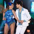 Lucas Veloso pediu Nathalia Melo em namoro no palco do 'Domingão do Faustão'