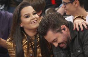 Fernando Zor entrega volta do namoro com Maiara em show: 'Trouxe meu sogro'