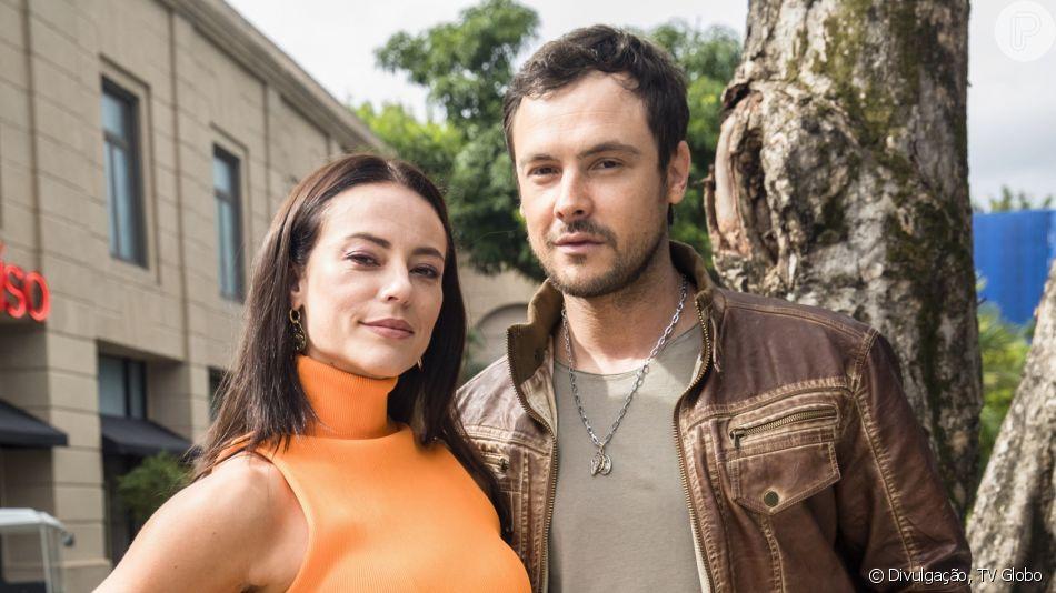 Chiclete (Sérgio Guizé) arruma nova namorada nos próximos capítulos de 'A Dona do Pedaço'.