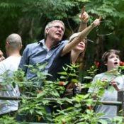 Harrison Ford visita Floresta da Tijuca e o Jardim Botânico do Rio com família