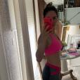 Thyane Dantas mostrou o corpo mais magro em fotos no Instagram